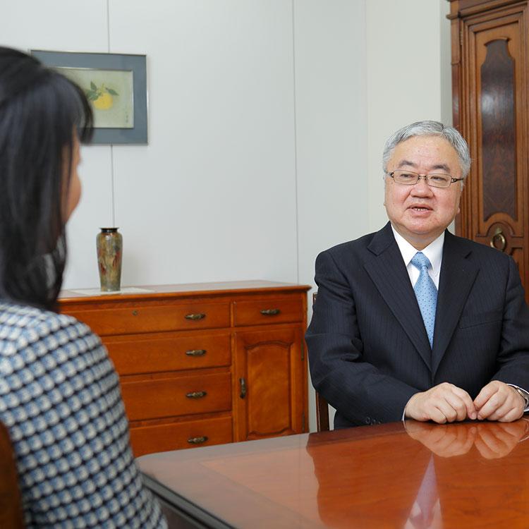 インタビュー 小澤 英明